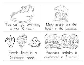 Summer Booklet