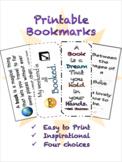 Summer Bookmarks