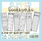 Summer Bookmarks & Editable Gift Tags
