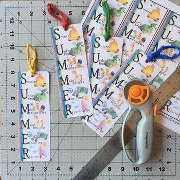 Summer Bookmarks, End of Year Gift