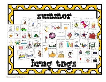 Summer Brag Tags