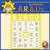 Free Summer Learning Game Brain Bingo