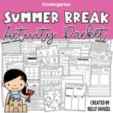 Summer Break [+ 1st Grade Prep] Activity Packet | Kindergarten