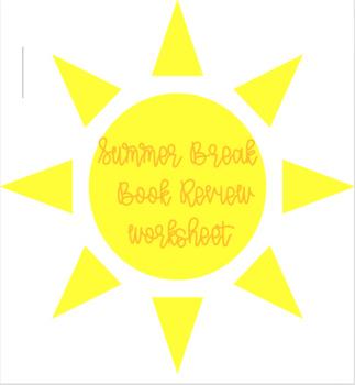 Summer Break Book Review