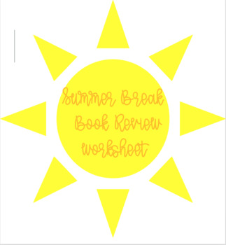 Summer Break Book Review