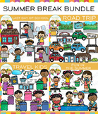 Summer Break: School's Out for Summer Clip Art Bundle