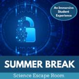 Summer Break Escape Room - Middle School Science