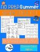 Summer Activities Kindergarten  Worksheets: Common Core Aligned (NO PREP)