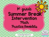 Summer Break Math for 1st Grade