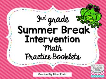 Summer Break Math for 3rd Grade