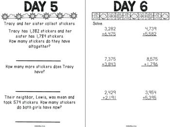 Summer Break Math for 5th Grade