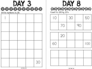 Summer Break Math for Kindergarten