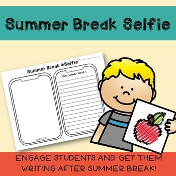 Summer Break Selfie