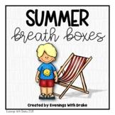 Summer Breath Box Fluency Practice