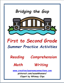Summer Bridge Activities:  First to Second Transition