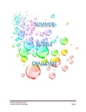 Summer Bubble Challenge