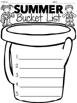 Summer Bucket List {FREEBIE}