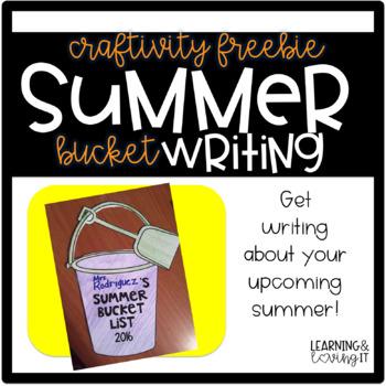 Summer Bucket List CRAFTIVITY FREEBIE