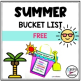 Summer Bucket List Activity