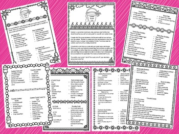Summer Bucket List Activity & Ideas