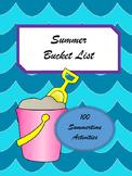Summer Bucket List Challenge