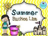 Summer Bucket List Craft