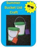 Summer Bucket List Craft Template