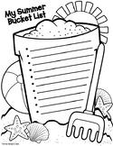 Summer Bucket List End Of Year Activity Summer Goals