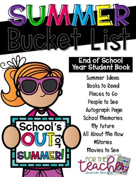 Summer Bucket List FREEBIE!