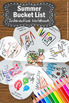 Summer Bucket List Craft Activity Craftivity End of the Year Writing Activities