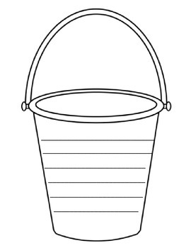 picture relating to Bucket Printable identified as Bucket Record Template Worksheets Training Products TpT
