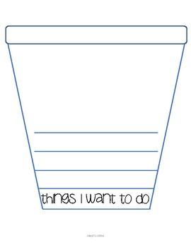 Summer Bucket List Writing Activity