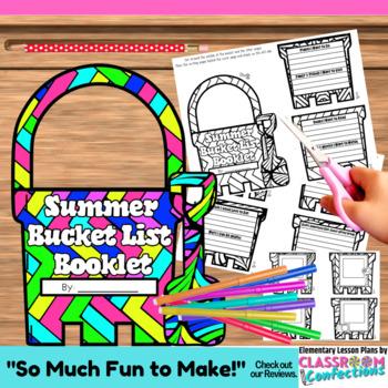 Summer Bucket List: Writing Activity Booklet