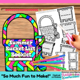 Summer Bucket List: Writing Activity Booklet