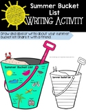 Summer Bucket List Writing Craft