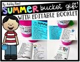 Summer Bucket List and Bucket Gift