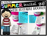 Summer Bucket List and Bucket Gift