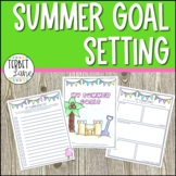 Summer Bucket List and Goal Setting End of Year Activity