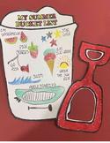 Summer Bucket List end of year art project