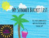 Summer Bucket List- iPad Activity