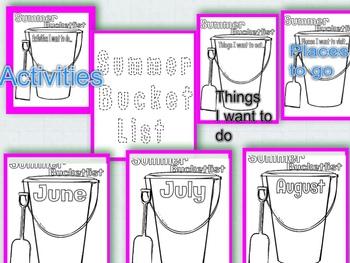 Summer Bucket Lists!