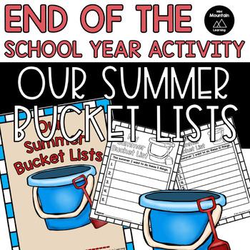 Summer Bucket Lists Class Book