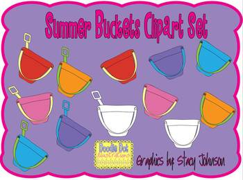 Summer Buckets - Graphics for Commercial Use