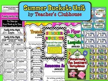 Summer Buckets Unit