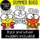 Summer Bugs Clipart {Creative Clips Clipart}