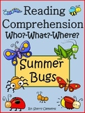 Insects Reading Comprehension Passages and Questions Distance Learning