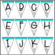 Summer Banner Letter Pennants {Build Your Own}