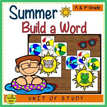 Summer Build a CVC Word