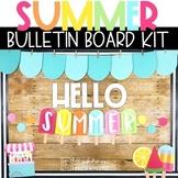 Summer Bulletin Board Kit - Popsicle Theme
