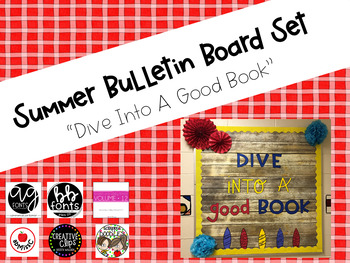 Summer Bulletin Board Set